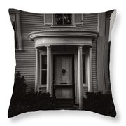 Back Home Bar Harbor Maine Throw Pillow