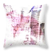 Back In Day  Throw Pillow