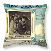 Back In Hackensack New Jersey Throw Pillow