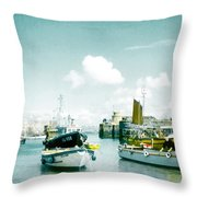 Back In The Olden Days Throw Pillow