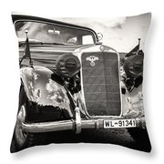 Back In Time... Throw Pillow