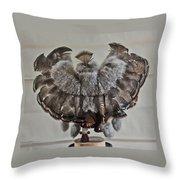 Back Kachina Eagle Throw Pillow