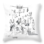 Back Rooms Of My Mind Door 301212 Throw Pillow