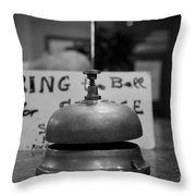 Back Soon -  Maybe Throw Pillow