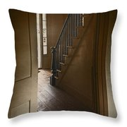 Back Stairway Throw Pillow