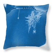 Back To Beauty Throw Pillow