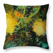 Back To Eden Throw Pillow