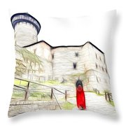 Back To Home Throw Pillow