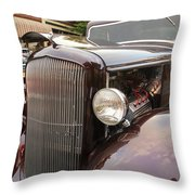 Back To The 50s Celebration - Grants Pass Throw Pillow