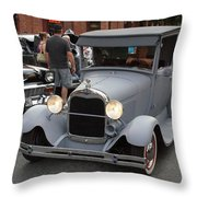 Back To The 50s - Grants Pass Throw Pillow