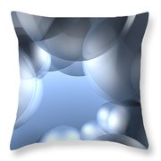 Background Effect Throw Pillow