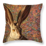 Background Noise Throw Pillow