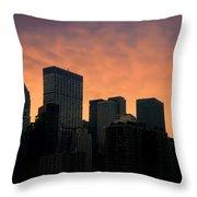 Backlit Throw Pillow