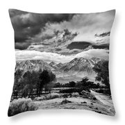 Backroads Of Bishop Throw Pillow