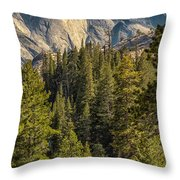 Backroads Of Yosemite Throw Pillow