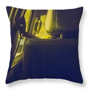 Backseat Throw Pillow