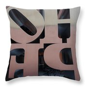 Backside Of Hope Throw Pillow