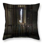 Backstage Control. Throw Pillow