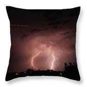 Backyard Bolt 1 Throw Pillow