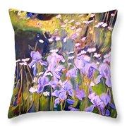 Backyard Garden IIi Throw Pillow
