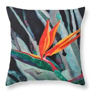 Backyard Paradise Throw Pillow