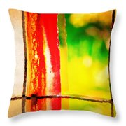 Bacon Thoughts Throw Pillow