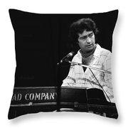 Bad Company 1977 Throw Pillow