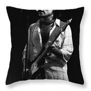 Bad Company Smokes Spokane 1977 Throw Pillow