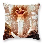 Bad Dreams Throw Pillow