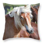 Bad Hair Day 8024 Throw Pillow