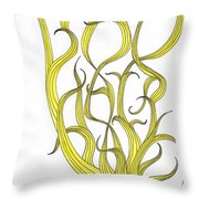 Bad Hair Day Throw Pillow by Christy Beckwith