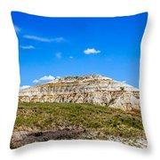 Badlands 16 Throw Pillow