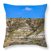 Badlands 27 Throw Pillow