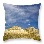 Badlands 33 Throw Pillow