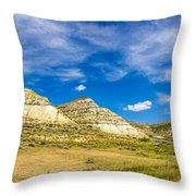 Badlands 35 Throw Pillow