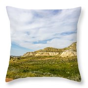 Badlands 38 Throw Pillow