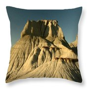 Badlands Hoodoo Throw Pillow