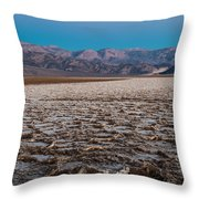 Badwater Throw Pillow