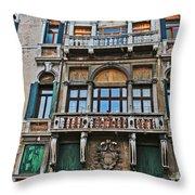 Baffo Balcony Throw Pillow