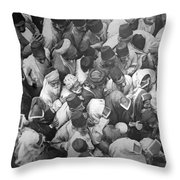 Baghdad Crowd Throw Pillow