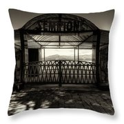 Bagni Sempione Throw Pillow