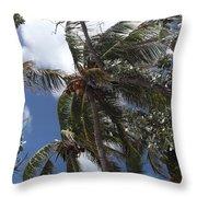 Bahamas Sky Throw Pillow