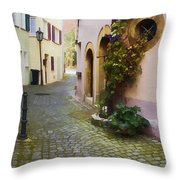 Bahnhof St. Throw Pillow