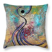 Bailando 1 Throw Pillow