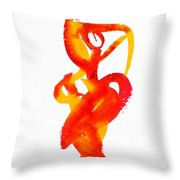 Bailando 14 Throw Pillow