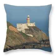 Baily Lighthouse Howth Throw Pillow