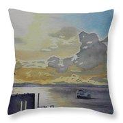 Bainbridge Ferry Throw Pillow
