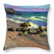 Baja Beach Throw Pillow