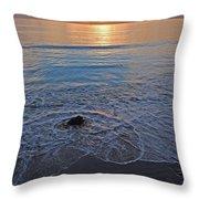 Baja California Rt 1 Coast 11 Throw Pillow