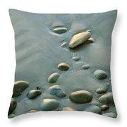 Baja California Rt 1 Coast 6 Throw Pillow